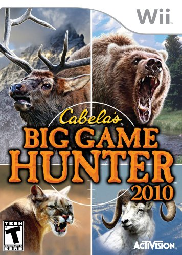 Cabela's Big Game Hunter 2010 (Wii) [USED]