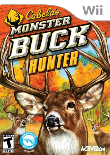 Cabela's Monster Buck Hunter (game (Wii) [USED]