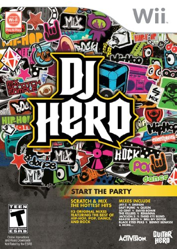 DJ Hero Start the Party (game only (Wii) [USED]