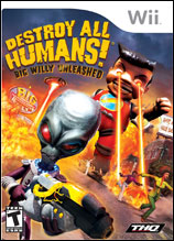 Destroy All Humans! Big Willy Unle (Wii) [USED]
