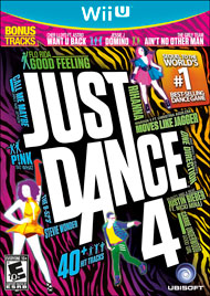 Just Dance 4 (Wii U) [USED]
