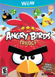 Angry Birds Trilogy (Wii U) [USED]