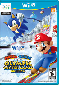 Mario & Sonic at the Sochi 2014 Ol (Wii U) [USED]