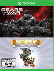 Gears of War Ultimate Edition & Ra (Xbox One) [USED]