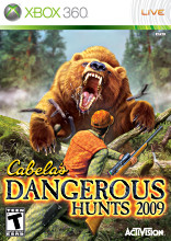 Cabela's Dangerous Hunts 2009 (Xbox 360) [USED]