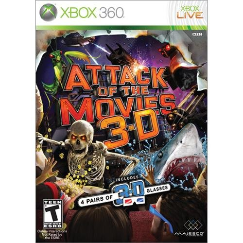 Attack of the Movies 3D (Xbox 360) [USED]