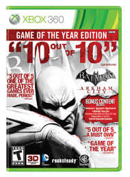 Batman Arkham City Game of the Yea (Xbox 360) [USED]