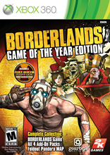 Borderlands Game of the Year Editi (Xbox 360) [USED]