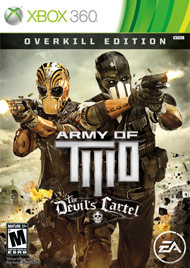 Army of Two The Devil's Cartel (Xbox 360) [USED]