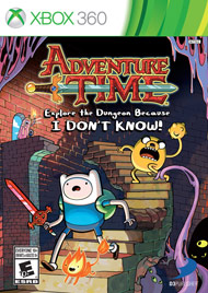 Adventure Time Explore the Dungeon (Xbox 360) [USED]