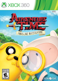Adventure Time Finn and Jake Inves (Xbox 360) [USED]