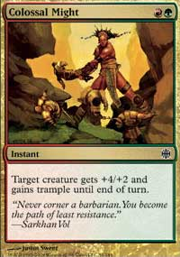 Colossal Might