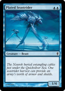 Plated Seastrider - Foil