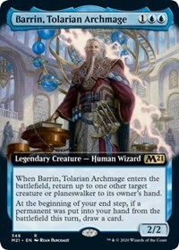 Barrin, Tolarian Archmage (Extended Art) - Foil