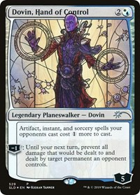 Dovin, Hand of Control (Stained Glass)