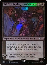 Ob Nixilis, the Hate-Twisted (Stained Glass)
