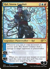 Ral, Storm Conduit (Stained Glass)