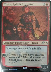 Tibalt, Rakish Instigator (Stained Glass)