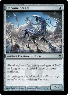 Chrome Steed - Foil