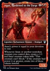 Anax, Hardened in the Forge (Showcase) - Foil