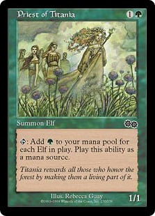 carpet of flowers mtg. priest of titania carpet flowers mtg