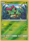Caterpie - 1/149 - Common Reverse Holo
